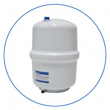 Baltas, plastikinis rezervuaras vandeniui (15 l)